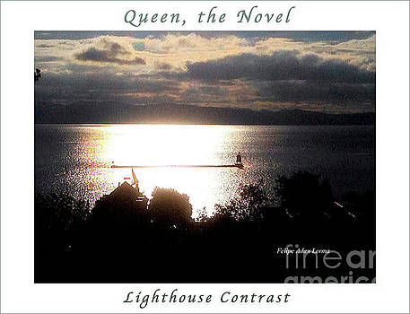 Felipe Adan Lerma - Image Included in Queen the Novel - Lighthouse Contrast Enhanced Poster