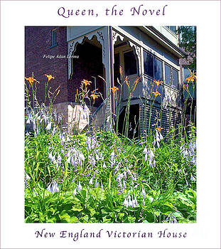 Felipe Adan Lerma - Image Included in Queen the Novel - New England Victorian House Enhanced Poster