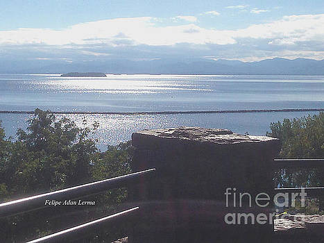 Felipe Adan Lerma - Image Included in Queen the Novel - Outlook Point Battery Park Vermont