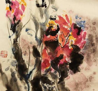 Image Of Flower1 by Xiaochuan Li