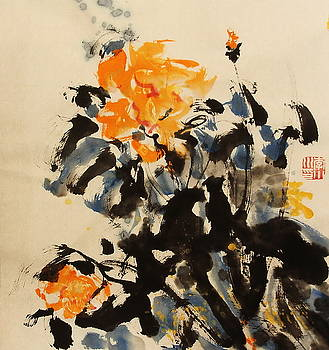 Image Of Flower3 by Xiaochuan Li