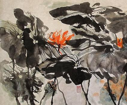Image Of Lotus by Xiaochuan Li