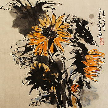 Image Of Sunflower by Xiaochuan Li