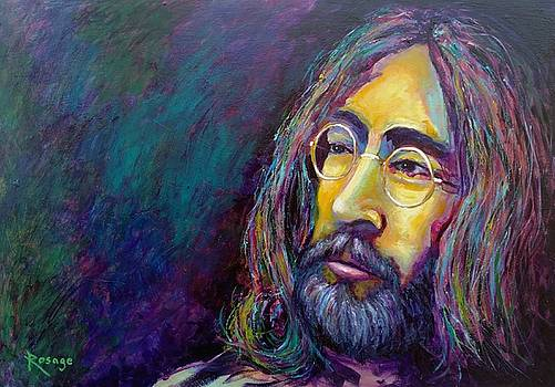 Imagine - John Lennon by Bernie Rosage Jr