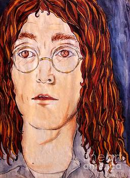 Imagining John Lennon by Joan-Violet Stretch