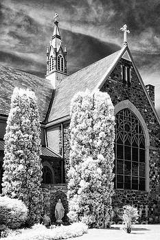 Immaculate Conception Church by Jeff Holbrook