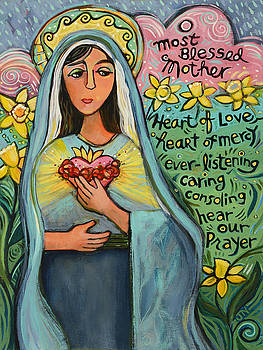 Immaculate Heart of Mary by Jen Norton