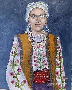 Immigrant Woman by Linda Marcille