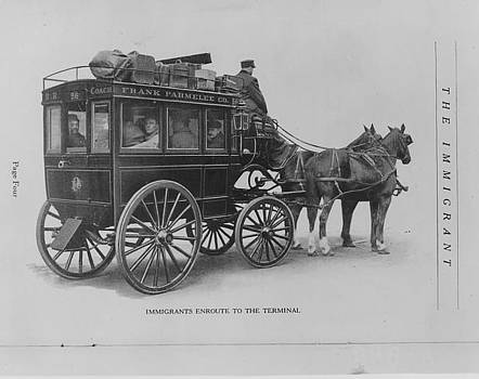 Chicago and North Western Historical Society - Immigrants en Route to Terminal