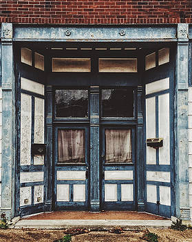 Imperfect Symmetry. Old Dilapidated Doors. by Dylan Murphy