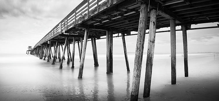 Imperial Beach Pier Panorama by William Dunigan