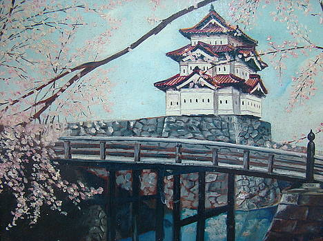 Imperial Palace Tokyo Japan by Charles Roy Smith