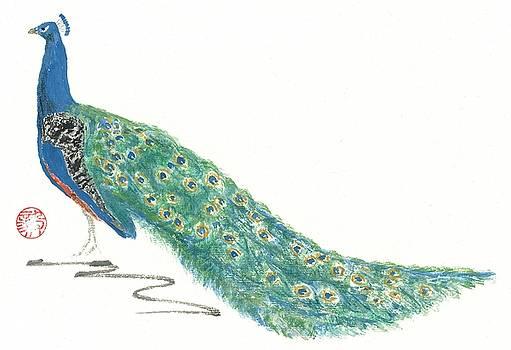 Imperial Peacock by Terri Harris