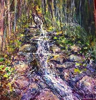 Impression of a Creek by Susan Abell