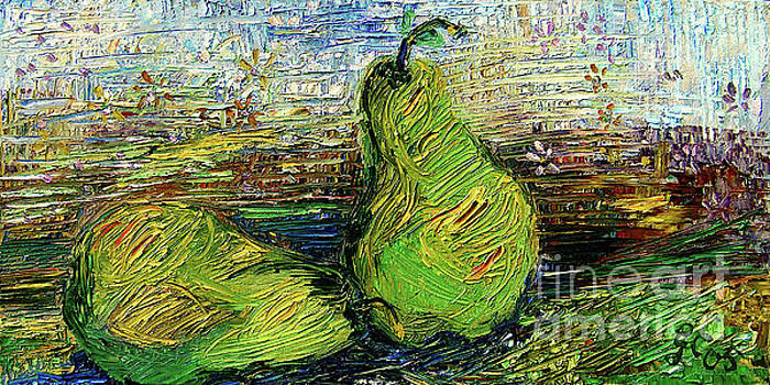 Ginette Callaway - Impressionism Green pairs Oil Painting