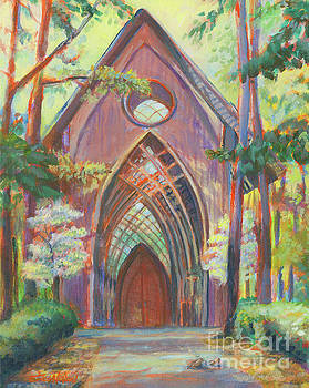 Impressionist Cooper Chapel by Erika Nelson