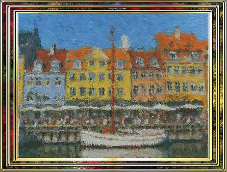 Impressionist Docks by Mario Carini