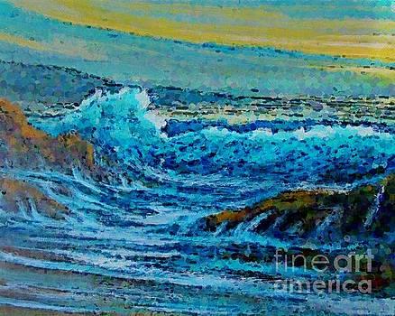 John Malone - Impressionist Seascape