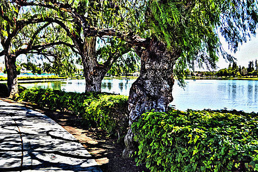 Glenn McCarthy Art and Photography - Impressions From A Park - Three