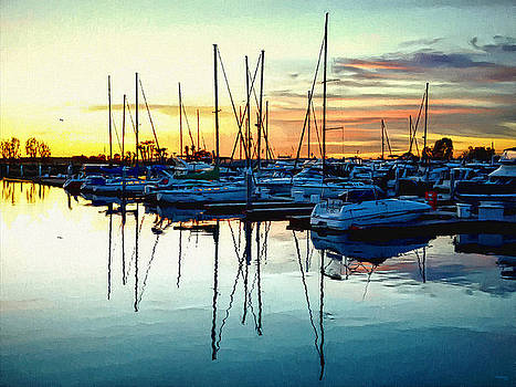 Glenn McCarthy Art and Photography - Impressions Of A San Diego Marina