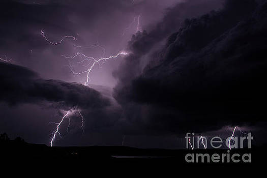 Impressive Lightning  by Francis Lavigne-Theriault
