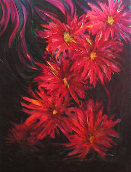 In A Garden Of Red by Carolyn LeGrand