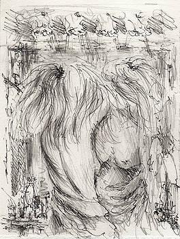 In a mirror by Rachel Christine Nowicki