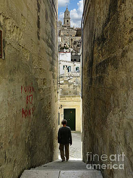 In Between Matera.Italy by Jennie Breeze