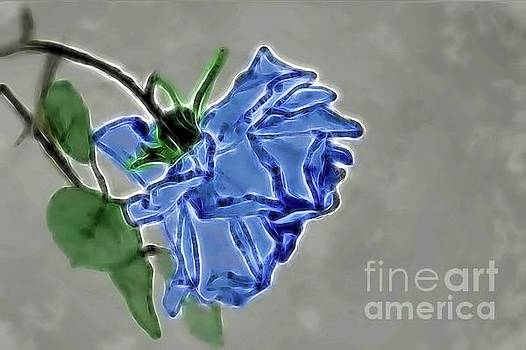 In Blue by Diana Mary Sharpton