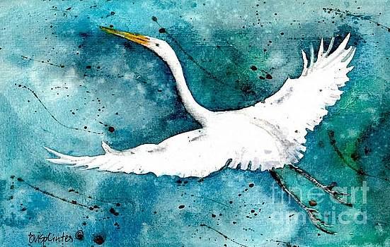 In Flight by Diane Splinter