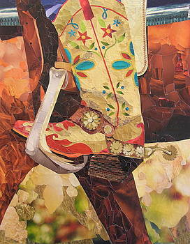 In Her Favorite Boots She Can Take On The World by Robin Birrell
