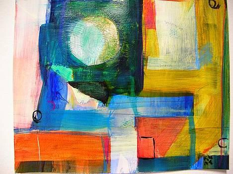 In high thin clouds we dream by Karen Geiger