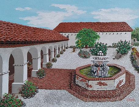 In its Day Mission San Miguel by Katherine Young-Beck