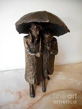 In love in the rain by Nikola Litchkov