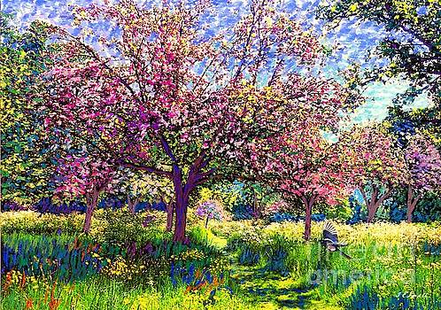 In Love with Spring, Blossom Trees by Jane Small