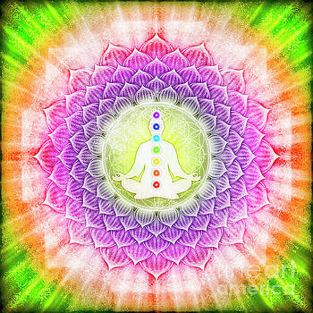 In Meditation With Chakras by Dirk Czarnota