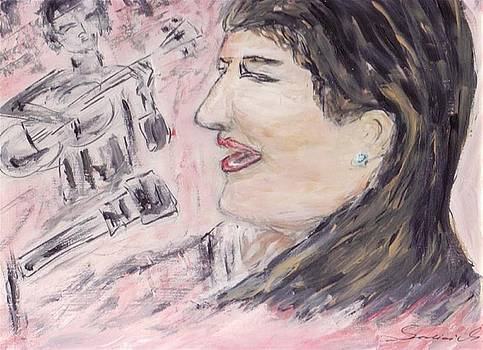 In Memoriam - Mercedes Sosa by Mary Sedici