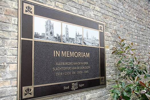 In Memoriam - Ypres by Travel Pics