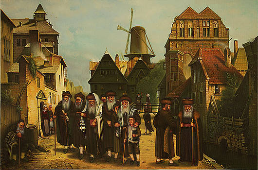 In memory of the Jewish community of the Netherlands. Geniuses Amsterdam. by Eduard Gurevich