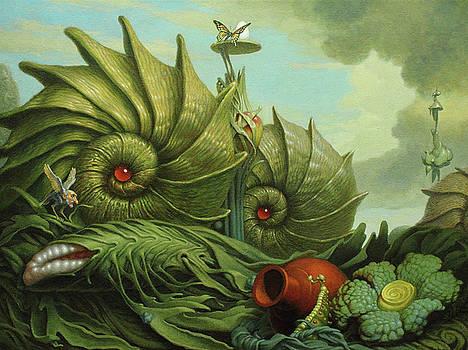 In My Garden by Jim Thiesen