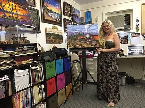In my studio by Darice Machel McGuire