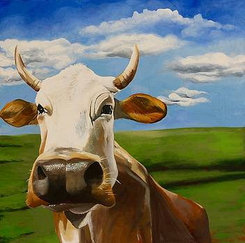 In Pasture by Lori A Johnson