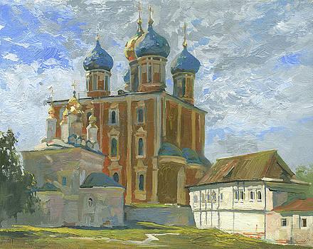 In Ryazan Kremlin by Denis Chernov