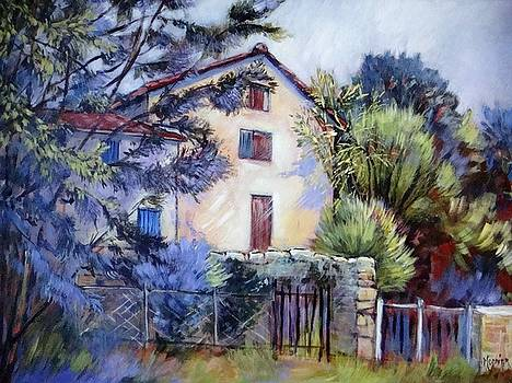 In Saint Loup  by Cathy MONNIER