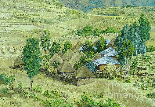 In Selale, Ethiopia by Yoseph Abate