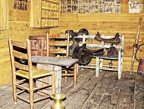 In the Barn by Susan Leggett