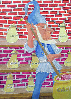 The Candy Room Elf by Gordon Wendling