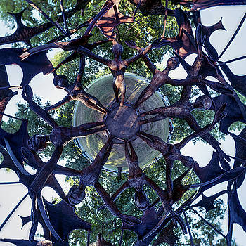 Chris Bordeleau - In the Center of Seven under Birds #1 - Tiny Planet