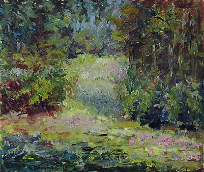In the Forest by Liudvikas Daugirdas