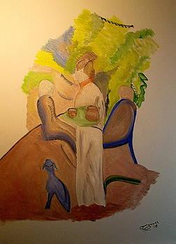 In The Garden by Bill OConnor